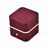 Imitation Leather Ring BoxLBOX-S001-003-2