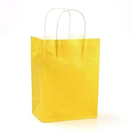 Pure Color Kraft Paper BagsAJEW-G020-A-13-1