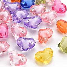 Transparent Acrylic Beads TACR-S152-19A