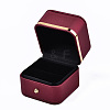 Imitation Leather Ring BoxLBOX-S001-003-3