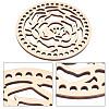 Wooden Basket BottomsDIY-WH0167-27C-4