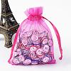 Organza Gift Bags with DrawstringOP-R016-9x12cm-07-1