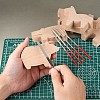 DIY Wood Carving Craft Kit DIY-E026-07-5