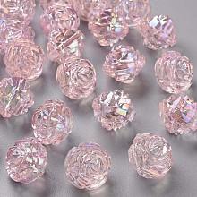 Transparent Acrylic Beads TACR-S154-31C-902