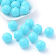 Fluorescent Chunky Acrylic Beads X-MACR-R517-20mm-05
