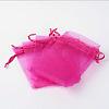 Organza Gift Bags with DrawstringOP-R016-9x12cm-07-2