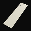 Rectangle Shape Cardboard Necklace Display Cards CDIS-Q001-18-1