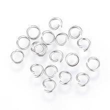 304 Stainless Steel Jump Rings STAS-F110-08P