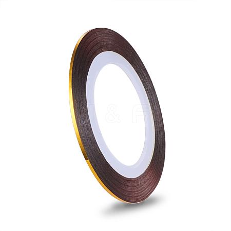 Self-adhesive Ultra Thin Laser Line Nail StickersMRMJ-K006-03-25-1