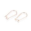 304 Stainless Steel Hoop Earring FindingsSTAS-E484-66B-RG-1