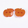Acrylic Sewing Buttons for Costume DesignX-BUTT-E082-A-02-2