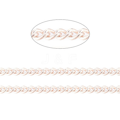 Brass Twisted ChainsCHC010Y-RG-1