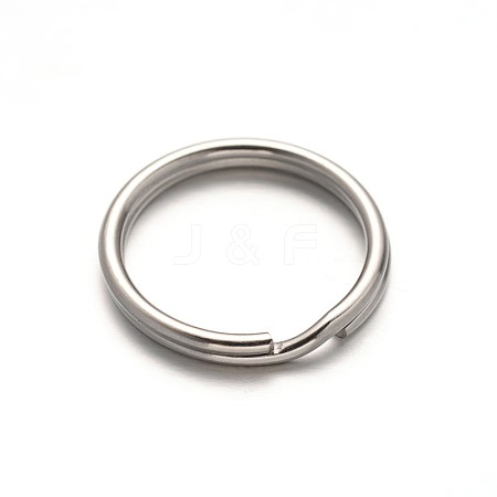 304 Stainless Steel Split Key RingsSTAS-M216-10-1