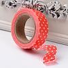 Polka Dot Pattern DIY Scrapbook Decorative Adhesive TapesDIY-F003-05-1