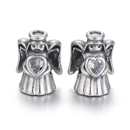925 Sterling Silver European BeadsOPDL-L017-061TAS-1