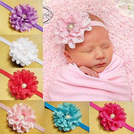 Fashionable Elastic Baby Headbands Hair AccessoriesOHAR-Q002-17-1