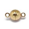 Rack Plating Brass Magnetic ClaspsKK-F801-02A-G-2