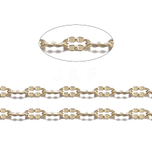 Real 18K Gold Plated Brass Cable Chains CHC-R126-09G