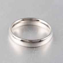 316 Stainless Steel Rings RJEW-N020-18P