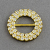 Shining Ring Wedding Invitation Ribbon BucklesRB-R007-27mm-02-1