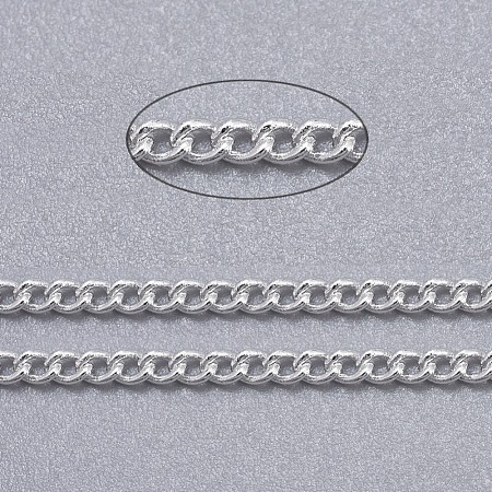 Brass Twisted ChainsX-CHC010Y-S-1