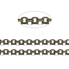 Soldered Brass Cable Chains CHC-X0001-02AB-FF-1