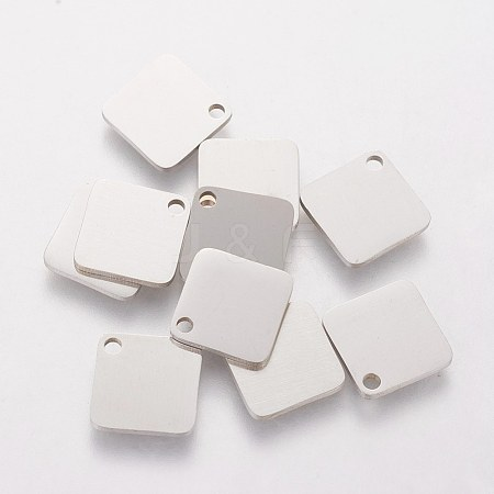 304 Stainless Steel Charms STAS-Q201-T413-1