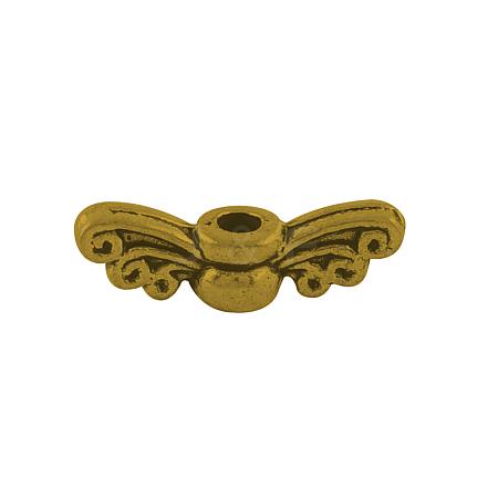 Tibetan Style Alloy Fairy Wing BeadsTIBEB-6007-AG-LF-1