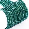 Transparent Glass Beads StrandsEGLA-F149-NA-01-1