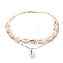 2 Layered Necklaces NJEW-JN02653-04