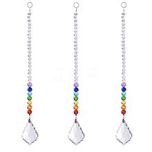 Crystal Suncatcher Prism Ball AJEW-WH0021-35B