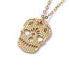 Brass Pendant Necklaces SetsNJEW-JN02679-5