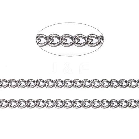 Brass Twisted ChainsCHC010Y-B-1