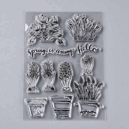 Plastic StampsDIY-M010-A24-1
