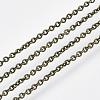 Brass Cable Chains CHC-034Y-AB-NR-1