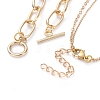 Double Layered & Chain Necklaces SetsNJEW-JN02780-4