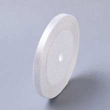 "1/4""(7mm) White Satin Ribbon Wedding Sewing DIY X-RC012-42"