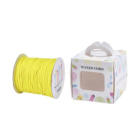 Environmental Korean Waxed Polyester Cord YC-JP0002-0.5mm-1185-1