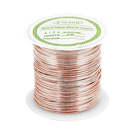 Copper Craft Wire Copper Beading WireCWIR-F001-RG-0.8mm-1