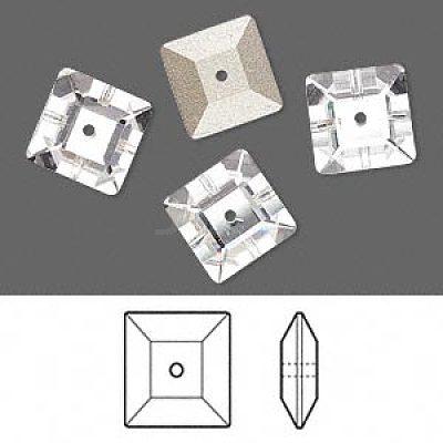 Austrian Crystal Rhinestone Beads3400-8mm-001(F)-1
