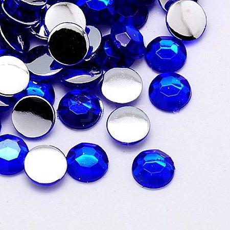 Imitation Taiwan Acrylic Rhinestone CabochonsGACR-A002-3mm-07-1