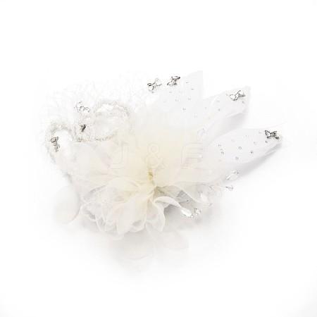Wedding Bridal Decorative Fascinator Hair AccessoriesPHAR-R123-05-1