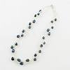 Pearl Jewelry Sets: Bracelets and NecklacesSJEW-R043-06-2