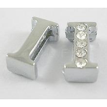 Alloy Initial Slide Beads X-ZP1I-NLF