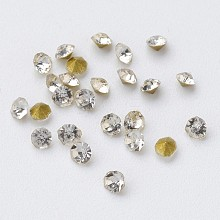 Glass Rhinestone Cabochons RGLA-D006-02
