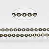 Brass Cable Chains CHC-034Y-AB-NR-2