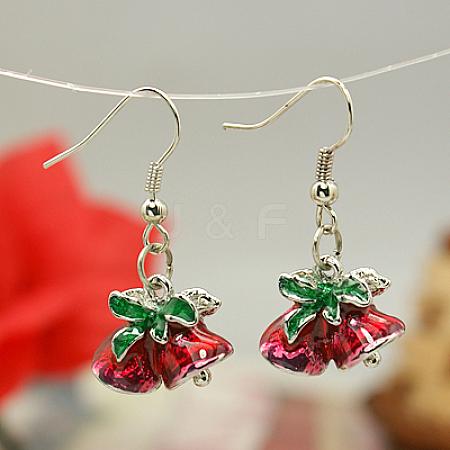 Fashion Earrings for ChristmasX-EJEW-JE00366-01-1