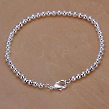 4mm Brass Ball Chain Bracelets for Women BJEW-BB12561