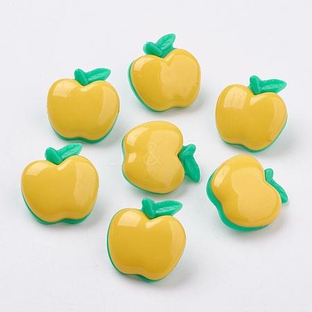 Acrylic Shank ButtonsX-BUTT-E020-B-06-1