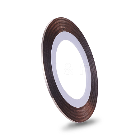 Self-adhesive Ultra Thin Laser Line Nail StickersMRMJ-K006-03-24-1